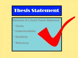 How to find the thesis in an essay
